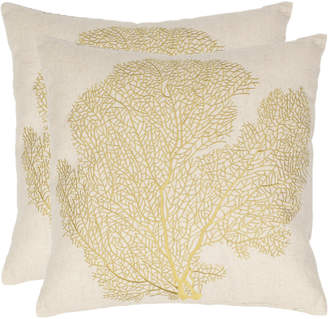 Safavieh Spice-Fan Coral Pillow