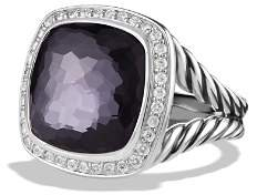 David Yurman Albion Ring with Lavender Amethyst and Diamonds
