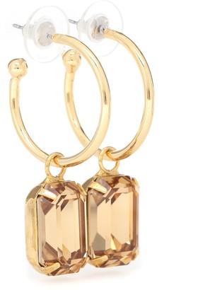 Jennifer Behr Jane embellished hoop earrings