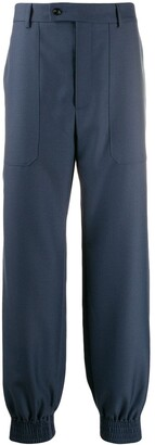 Gucci Elasticated Cuff Tailored Trousers