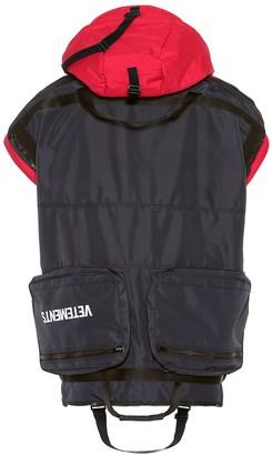 Vetements Convertible jacket