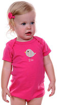 Princess Linens Hot Pink Bird Personalized Bodysuit - Infant