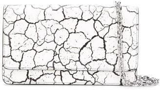 Maison Margiela Cracked-Effect Clutch