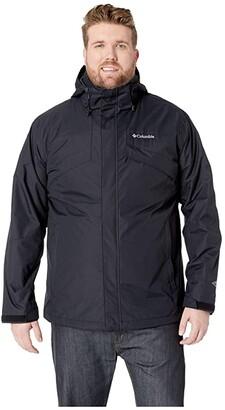 Columbia Big Tall Bugabootm II Fleece Interchange Jacket (Black/Charcoal Heather) Men's Coat