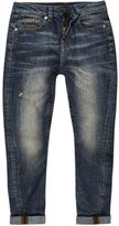 River Island Boys mid blue wash Chester tapered jeans