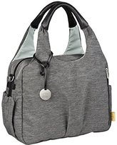 Lassig Green Label Global Diaper Bag Ecoya, Anthracite by