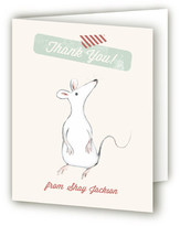 Minted Our Little Mouse Party Children's Birthday Party Thank You Cards