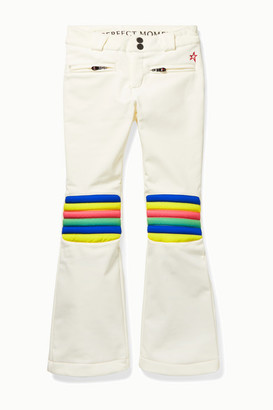 Perfect Moment Kids - Ages 6 - 12 Aurora Striped Flared Ski Pants