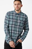 Ezekiel Jerry Plaid Long Sleeve Button Up Shirt