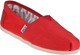 Toms Earthwise Classic Slip-on Orange Canvas