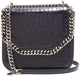 Stella McCartney Falabella Box medium crocodile-effect shoulder bag