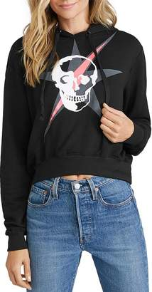 Chrldr Star Skull Hooded Sweatshirt