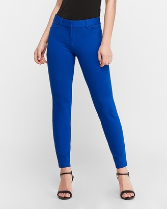 Express Mid Rise Knit Skinny Pant