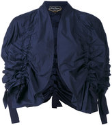 Salvatore Ferragamo cropped jackets - women - Polyester - 38