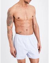 Sunspel Striped Woven-cotton Boxers