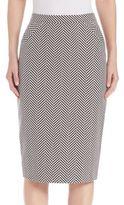 Escada Textured Knee-Length Skirt