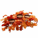NATIONAL TREE CO National Tree Co 22 Inch Maple Candle Holder