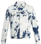 Loewe X William Morris Bleached-denim Jacket