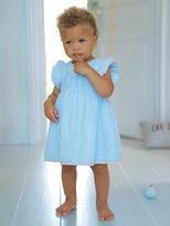 Vertbaudet Babys Dress with Frilled Sleeves