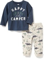 Old Navy 2-Piece Graphic Tee and Joggers Set for Baby