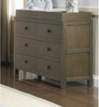 Tiamo Castello RTA 6 Drawer Changing Table Dresser Ti Amo Color: Weathered Brown