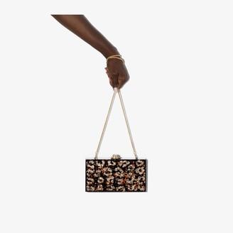 Sophia Webster Cleo animal-print clutch bag