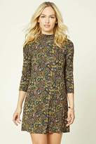 Forever 21 Contemporary Paisley Dress
