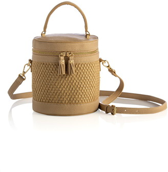 ELOQUII Woven Bucket Shoulder Bag