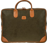 Bric's Life Laptop Briefcase - Olive