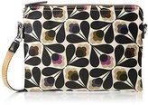 Orla Kiely Womens Matt Laminated Sycamore Seed Print Travel Pouch Purse