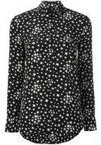 Saint Laurent star print shirt - women - Silk/Cotton - 34