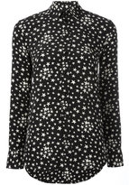 Saint Laurent star print shirt - women - Silk/Cotton - 36