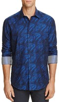 Robert Graham Limited Edition Brushstroke Print Classic Fit Button-Down Shirt