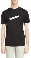 Lanvin Men's Reflective Tape Logo T-Shirt