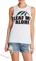 Chaser Front Graphic Sleeveless Muscle Tee