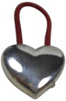 Tiffany & Co. Sterling Silver Heart Red Hasp Key Chain Ring