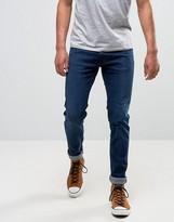 Lee Luke Skinny Jeans Stone Rinse Wash
