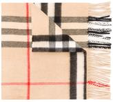 Burberry housecheck scarf - women - Cashmere - One Size