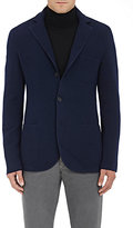 Barneys New York Men's Cashmere Three-Button Sportcoat-NAVY