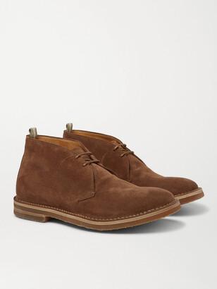 Officine Creative Waldorf Suede Chukka Boots