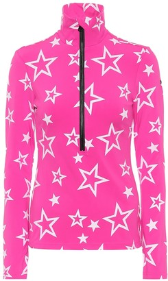 Goldbergh Clarisse star-print ski top