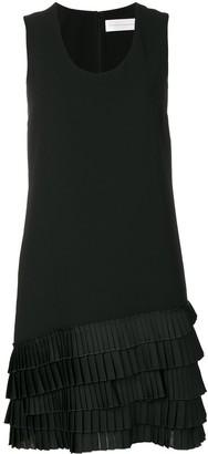 Victoria Victoria Beckham Pleated-Hem Dress