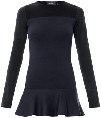 Isabel Marant Navy Wool Dresses