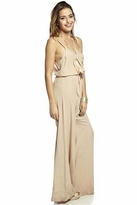 Gypsy 05 Haley Wide Leg Jumpsuit in Beige