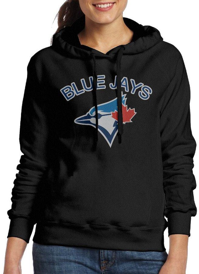 Sarah Women's Toronto Blue Jays Logo Hoodie XL