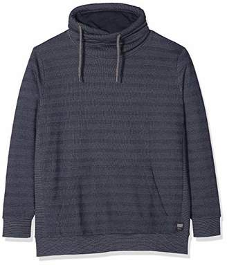 S'Oliver Big Size Men's 15.810.41.3254 Sweatshirt, Night Blue 59Q0, X
