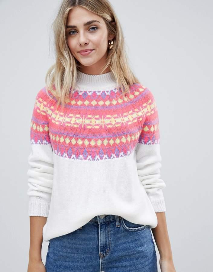 c748ab85f2713 Fairisle Sweater - ShopStyle