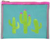 Lolo Bags Stanley Cactus Mesh Bag, Blue/Pink