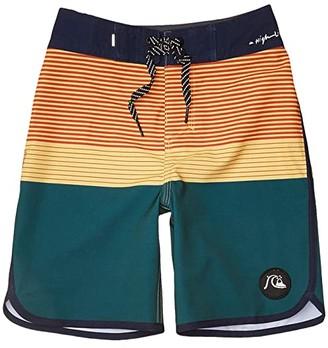 Quiksilver Highline Tijuana (Big Kids) (Vallarta Blue) Boy's Swimwear