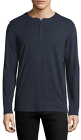 Saks Fifth Avenue Donegal Printed Henley